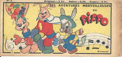 Les aventures merveilleuses de Pippo n° 3
