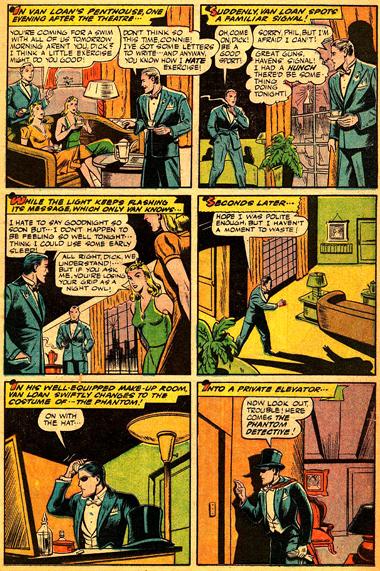 Richard Curtis Van Loan aperçoit le signal... On a besoin du Phantom Detective !