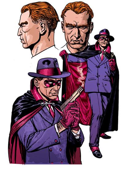 """Le Phantom Reporter (vu dans the Twelve) fut l'un des clones les plus """"voyants"""" du Phantom Detective. Mais pas le seul, loin s'en faut !"""