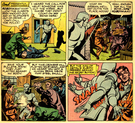 It's a job for... Robotman !