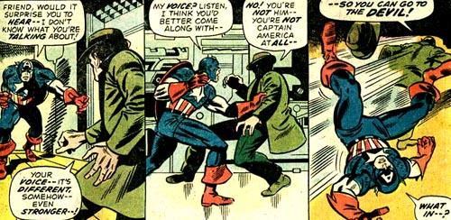 Dans Giant-Size Avengers #1, Steve Rogers et le Whizzer ne se connaissent manifestement pas, invalidant une partie de leur pass� commun.
