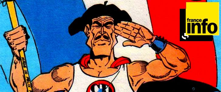 Les super-héros français sur France Info