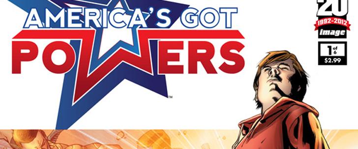 Avant-Première VO: Review America's Got Powers #1