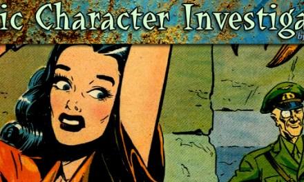 CCI: Comic Character Investigation #23