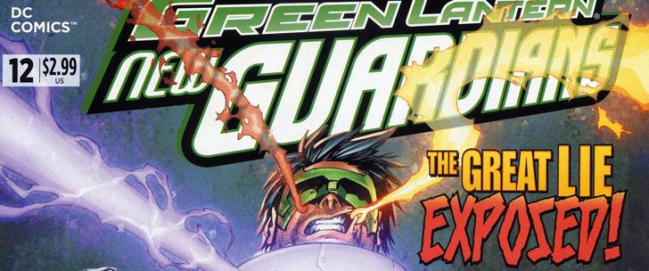 Avant-Première VO: Review Green Lantern: New Guardians #12