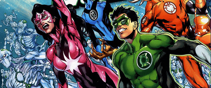 Avant-Première VO: Review Green Lantern: New Guardians #13