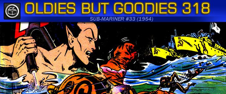 Oldies But Goodies: Sub-Mariner Comics #33 (Avril 1954)