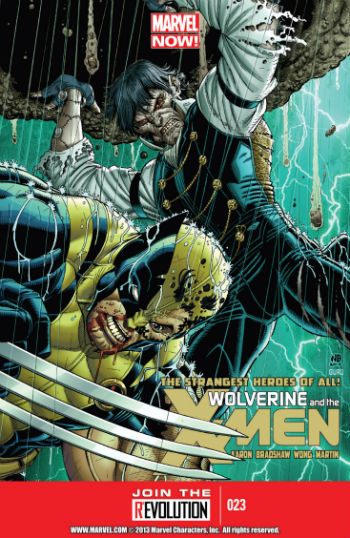 Wolverine And The X-Men #23