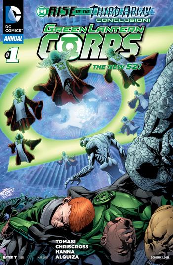 Green Lantern Corps Annual #1