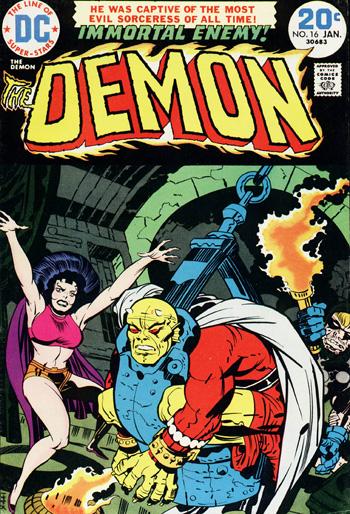Demon #16 (Jan. 1974)