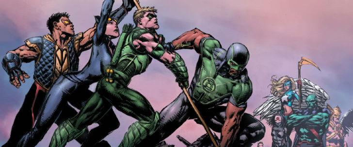Avant-Première VO: Review Justice League of America #1