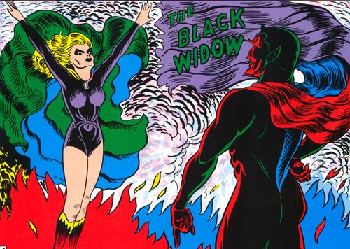 Claire Voyant devient Black Widow...