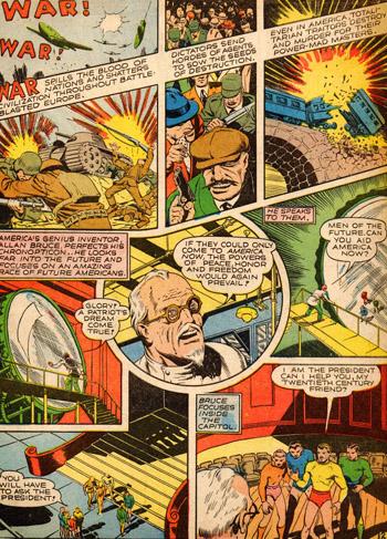 Le docteur Allan Bruce demande l'aide... de l'Avenir !