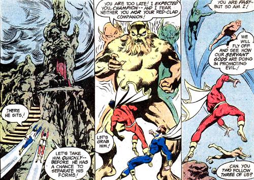 Le Mal, une entité capable de devenir trois créatures...