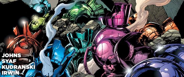 Avant-Première VO: Review Green Lantern #19