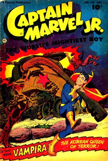 Captain Marvel Jr. #116 (Décembre 1952)