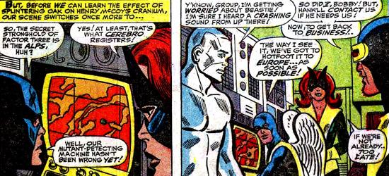 Les X-Men ont retrouvé la piste... Mais c'est loin !