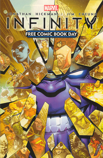Avant-Première VO: Review Free Comic Book Day 2013 - Infinity