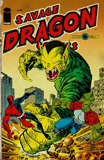 Avant-Première VO: Review Savage Dragon #188