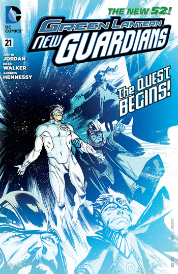 Green Lantern: New Guardians #21