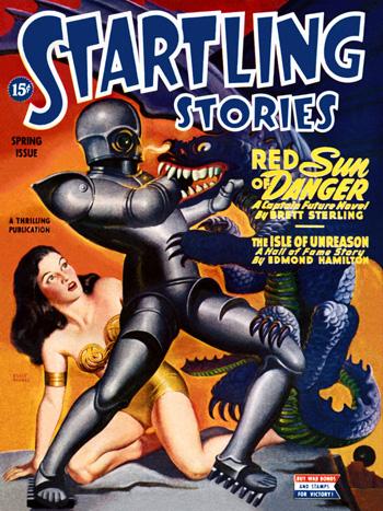 Dans les aventures de Captain Future, Ed Hamilton avait déjà exploité le soleil rouge...