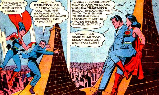 Superwoman tente de convaincre Clark de ne pas la trahir...