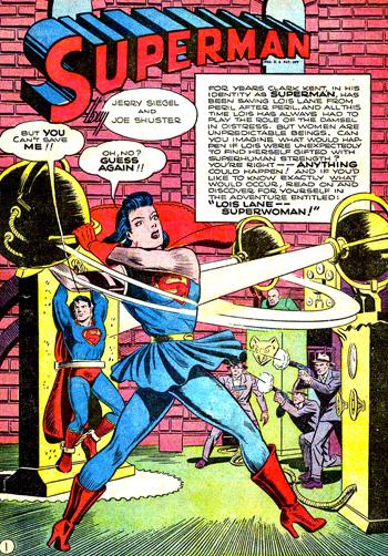 Action Comics #60, les débuts de Superwoman