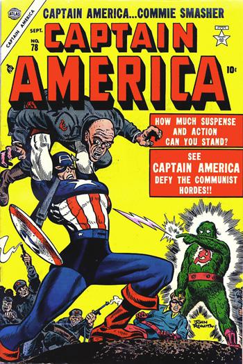 Captain America Comics #78 (Sept. 1954)
