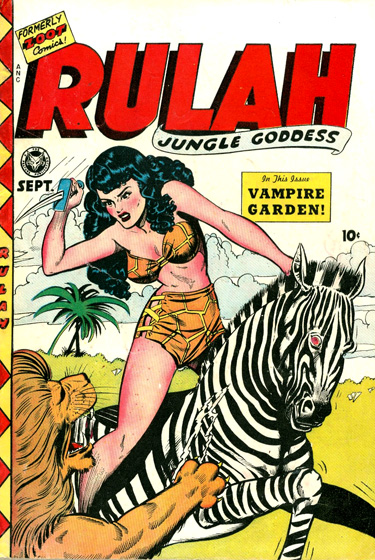 Stunning, Sexy and Brutal… Rulah's Jungle