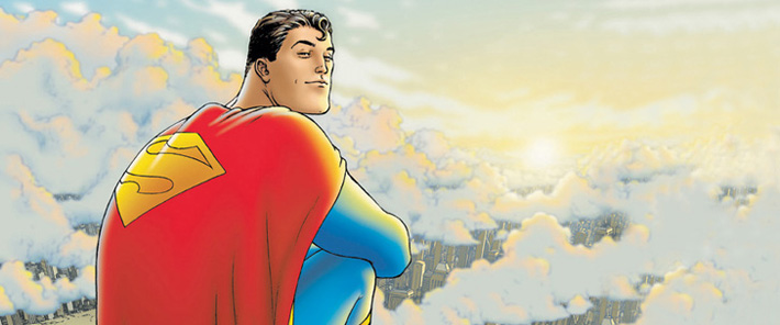 Un �t� en Super-H�ros sur France Info / Superman