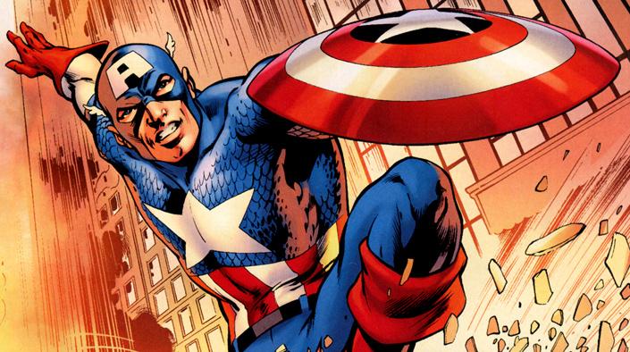 Un �t� en Super-H�ros sur France Info / Captain America