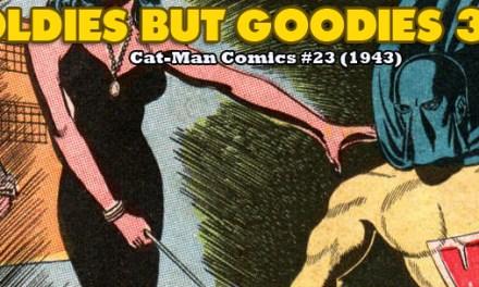 Oldies But Goodies: Cat-Man Comics #23 (Mars 1944)