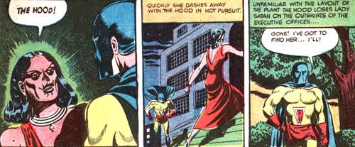 Lady Satant s'enfuit...