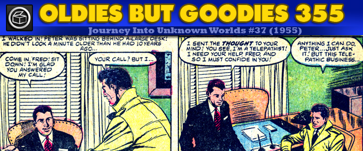 Oldies But Goodies: Journey Into Unknown Worlds #37 (1955)