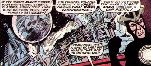 Des aliens, des mutants, de la télépathie et des bombes au Cobalt...