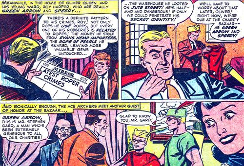 Oliver Queen et Roy Harper sont sur le coup.