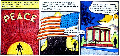 Rig Graves est en fait le Soldat Inconnu !