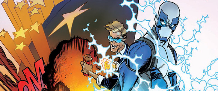 Preview: Quantum And Woody #5