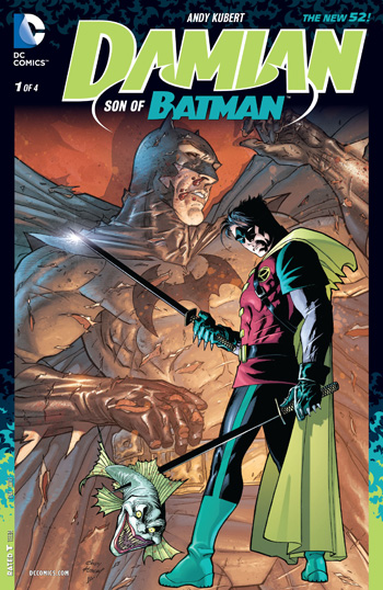 Avant-Première VO: Review Damian Son of Batman #1