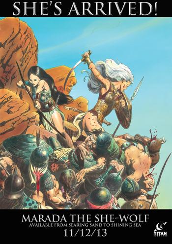 Marada The She-Wolf @ Titan Comics