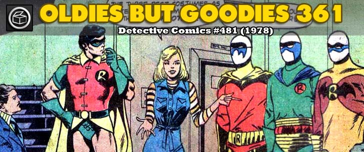 Oldies But Goodies: Detective Comics #481 (Déc. 1978)
