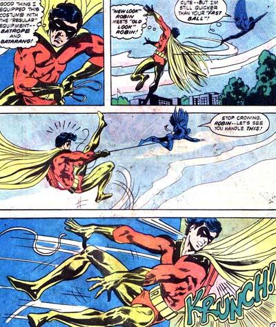 Le vol de Robin tourne à la cata...