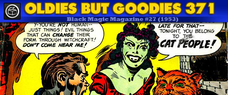 Oldies But Goodies: Black Magic Magazine #27 (Nov. 1953)