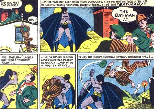 C'est lui... The Bat-Man !