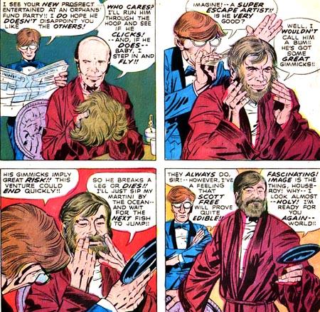 Funky Flashman = Stan Lee !