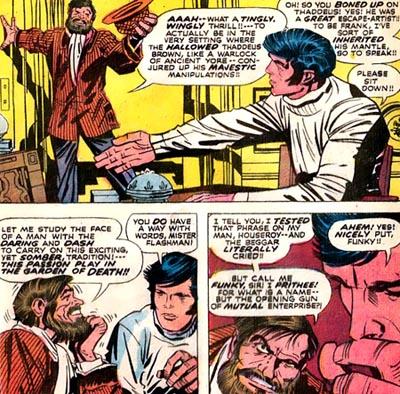 Funky / Stan Lee dans ses oeuvres...