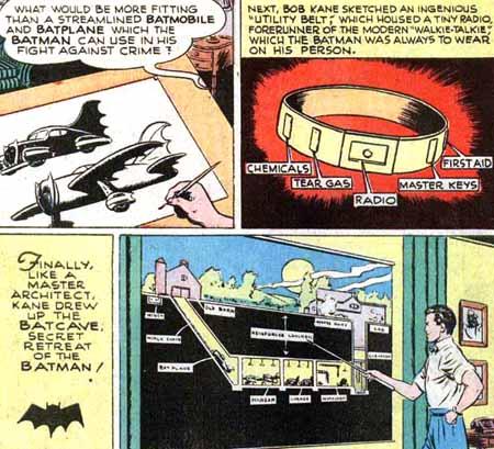 Tout le Bat-Folklore, inventé supposément avant le premier épisode...