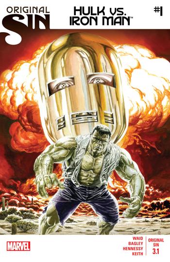 Original Sin 3.1 Hulk vs. Iron Man