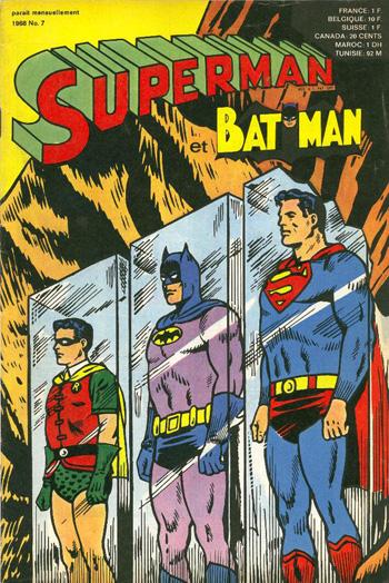 Superman et Batman Robin 1ère série n 7