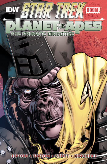 Star Trek/Planet of the Apes: The Primate Directive #1